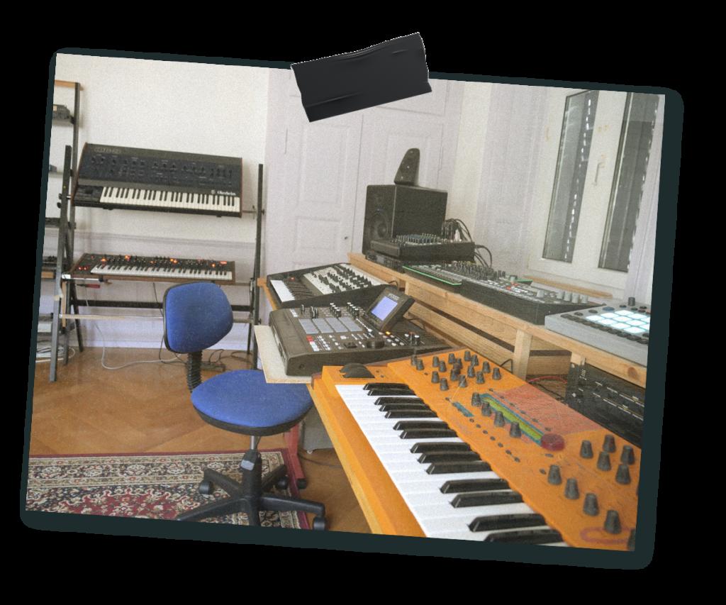 Studio de Vincent Joliat